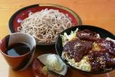 もりソースかつ丼セット ¥1,200