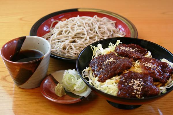 もりソースカツ丼セット ¥1,350