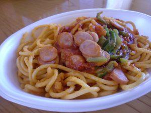 スパゲティナポリタン ¥750