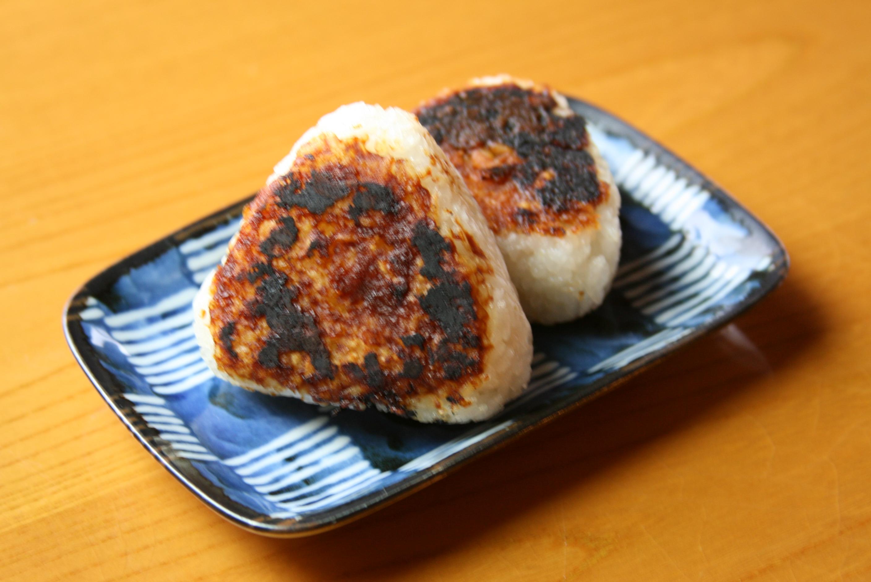 天のつぶ焼きおにぎり(1ケ)¥150