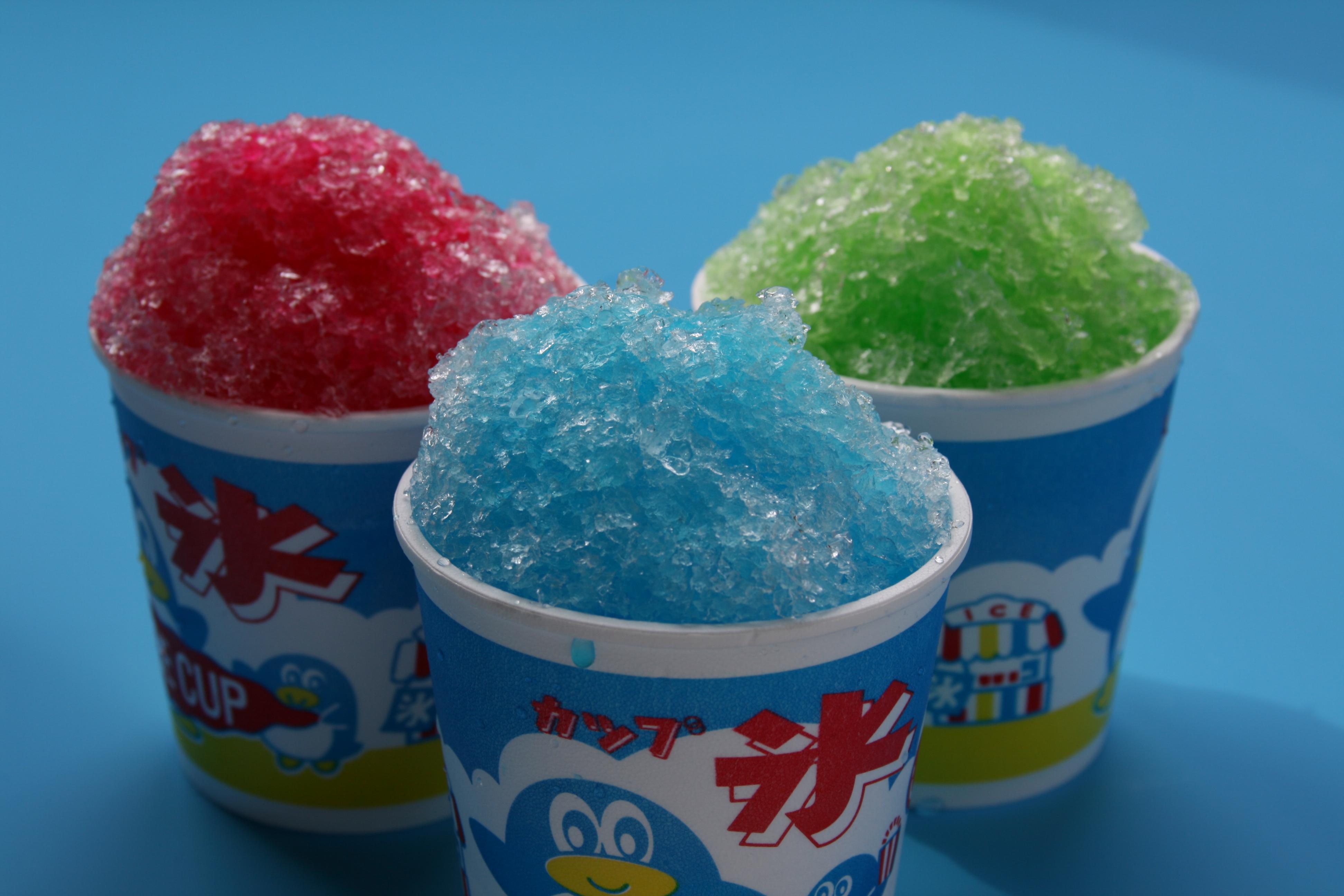 かき氷各種 ¥200