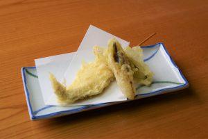 会津地鶏ササミ天ぷら