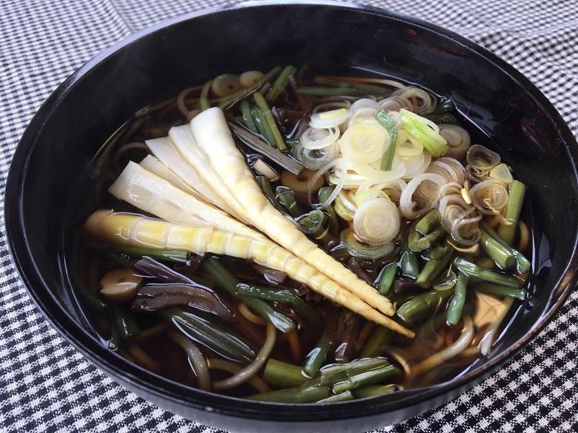 山菜そば ¥1,230