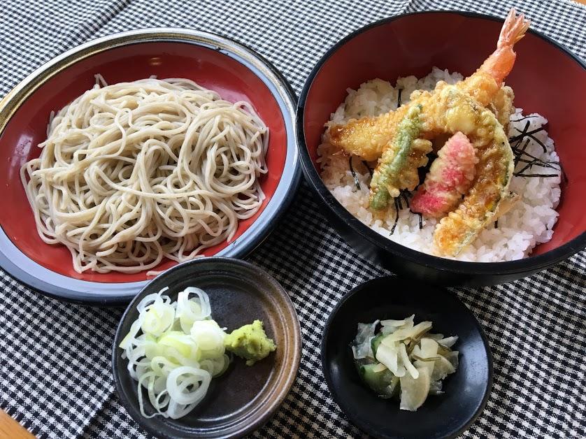 もり天丼セット ¥1,350