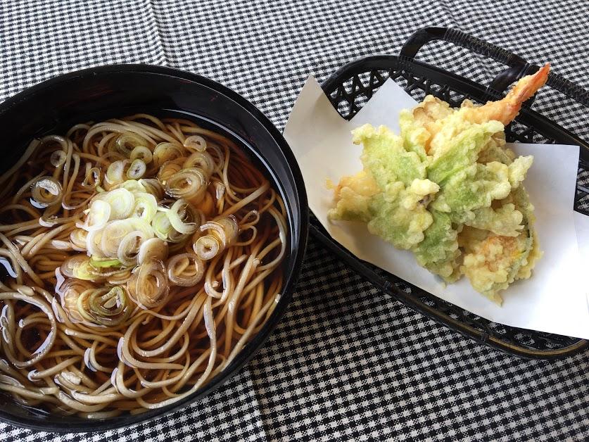 天ぷらそば ¥1,530